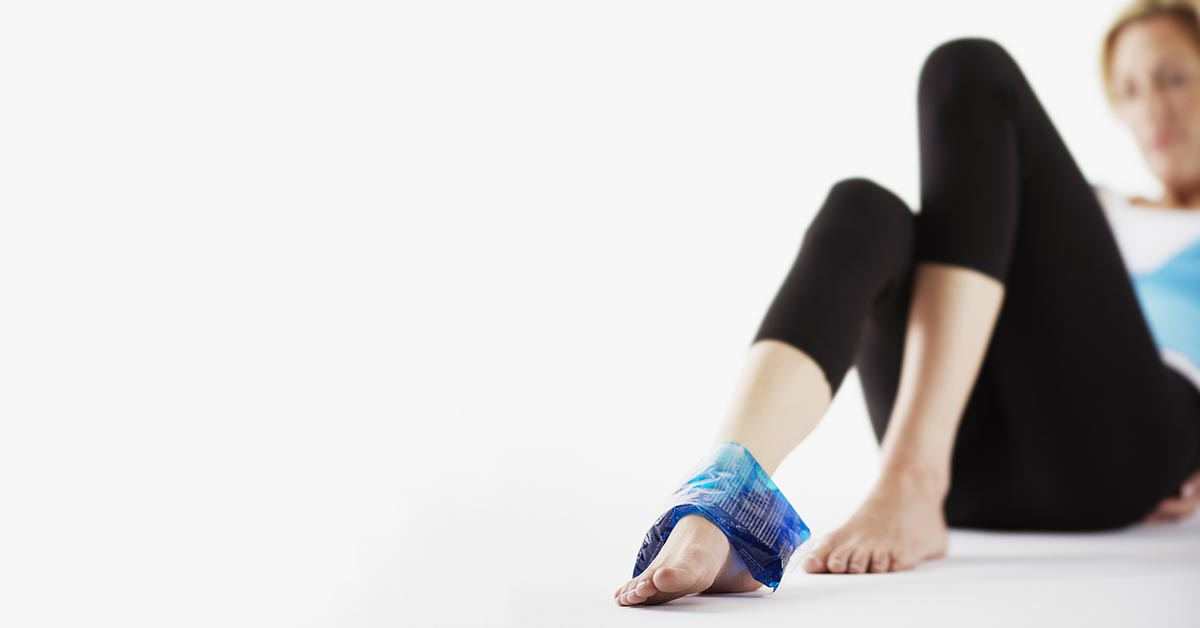 Anchorage natural ankle sprain treatment